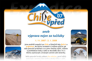 Expedice Chile vpřed